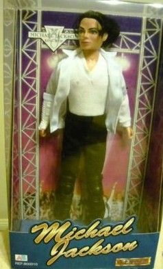 Michael Jackson Action Figure Doll New in Box