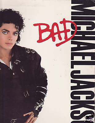 Michael Jackson Bad Original 1987 LP