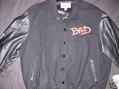 Michael Jackson Bad Tour Jacket Front
