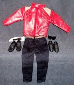 Michael Jackson Beat It Doll Clothes Outfit