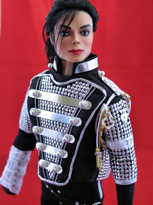Michael Jackson Dangerous OOAK Doll Body & Head