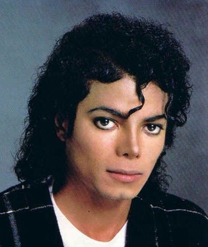 Michael Jackson Face Close Up