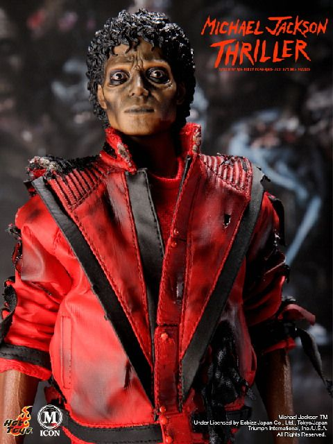 Michael Jackson Hot Toys Thriller Monster Figure