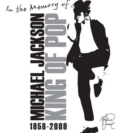 Michael Jackson memorial limited edition t-shirt
