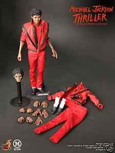Michael Jackson New Hot Toys Thriller 1/6 Scale 12 inch figure
