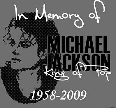 Michael Jackson Original Memorial T-Shrit