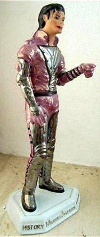 Michael Jackson Porcelaine Statue