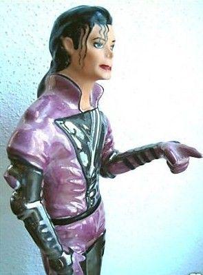 Michael Jackson Porcelaine Statue Figure