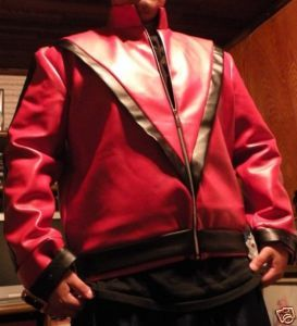 TMichael Jackson Red Beat it Jacket