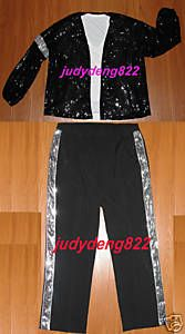 Michael Jackson Sequin Billie Jean Jacket and Pants