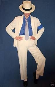 Michael Jackson Smooth Criminal Costume Clothes