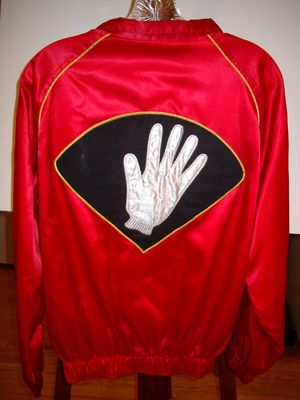 Michael jackson Smooth Criminal  Roadie Tour Jacket