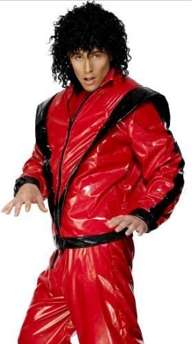 Michael jackson Thriller Adult 80's Halloween Costume