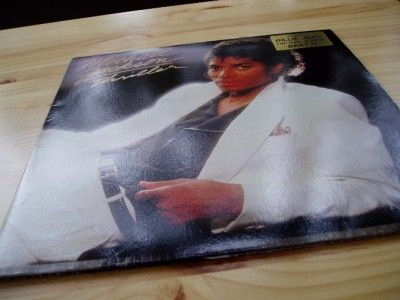 Michael jackson Thriller album cover front