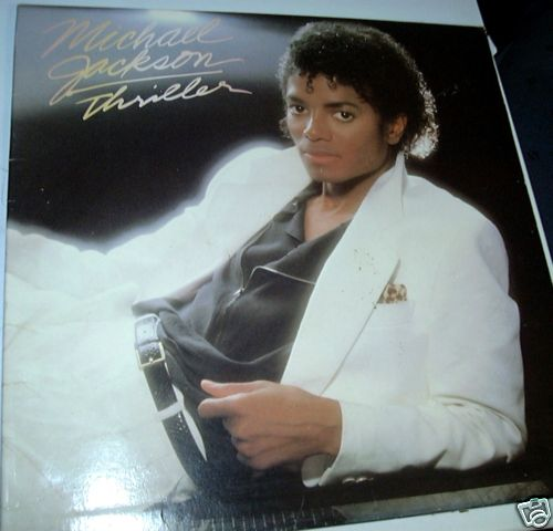 Michael Jackson Thriller Epic Label