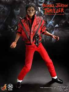 Michael Jackson Thriller Figure with monster head