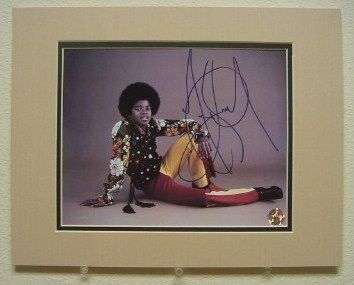 Michael Jackson Young Authentic Autograph Reprint Photo