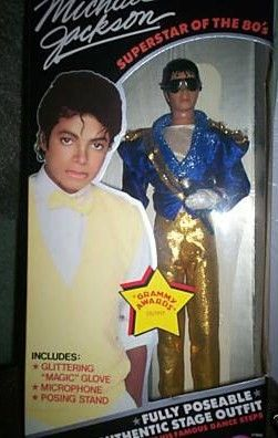 Michael Jackson Grammy Awards Action Figure Doll