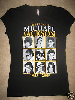 Michael Memorial Tee Shirt Sleeveless