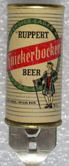 Micromini Can Opener 1960s Ruppert Knickerbocker Beer NY