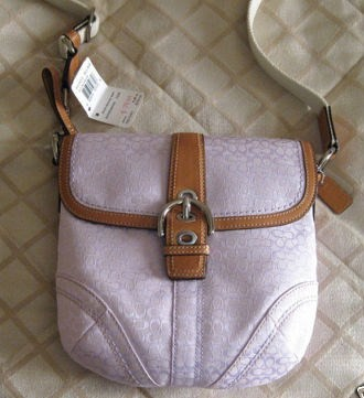 Mini Signature Flap Swing pack Lilac