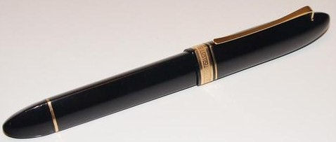 Omas 360 Blue Black w/Gold Trim Magnum Fountain Pen