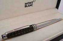Montblanc Solitaire Carbon Steel Meisterstuck 164 Ballpoint Pen