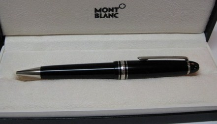 Montblanc Meisterstuck LeGrand Ballpoint Pen Platinum