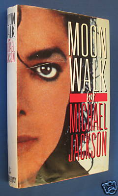 Moon Walk Book Front with Dust Cover