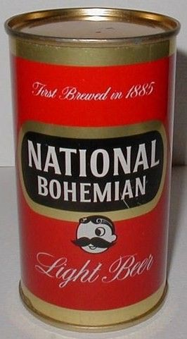National Bohemian Light Beer Flat Top Can/Baltimore, MD