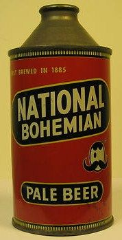 National Bohemian Pale Beer 12 oz Cone Top