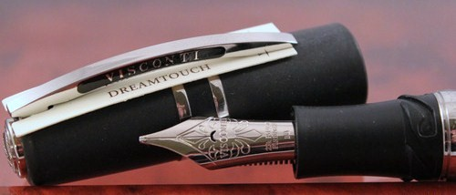 New Visconti Homo Sapiens Steel Age Maxi Fountain Pen w/Palladium