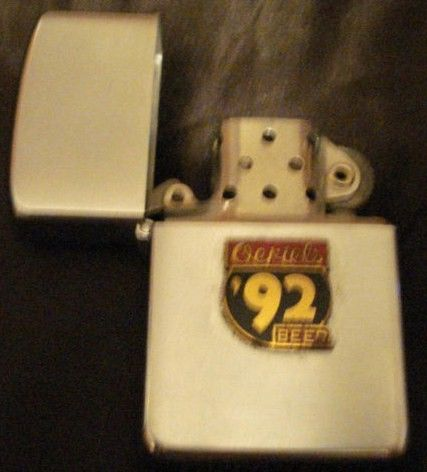 Ortels 92 Beer Zippo Cigarette Lighter 1960's