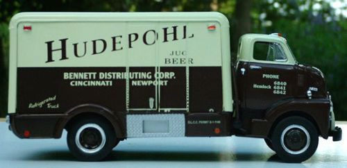 Old Hudepohl Beer Truck First Gear