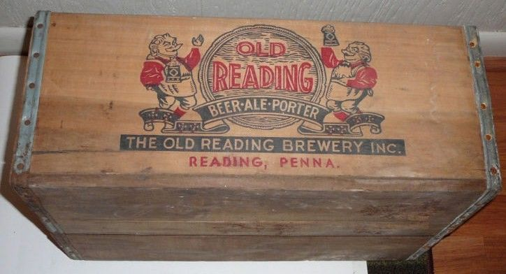 Old Redding Beer Crate