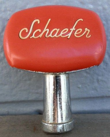 Old Schaefer Beer Tap Handle