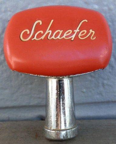 Old Schaefer Beer Tap Handle