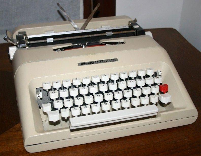 Olivetti Lettera 35 Portable