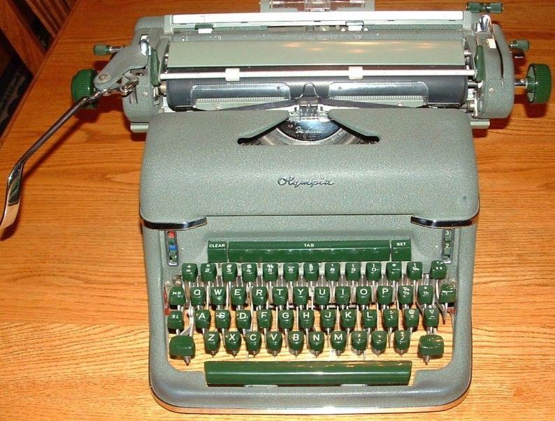 Olympia SG-1 Typewriter 1962