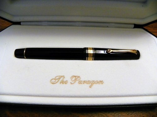 Omas Arte Italiana Paragon Fountain Pen NOS 1990s EF Nib