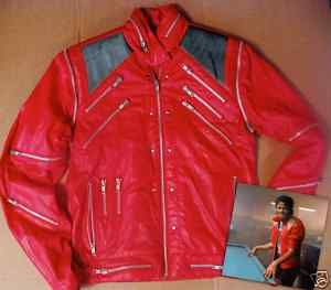 Original Michael Jackson Beat It Coat