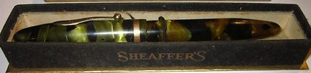 Oversized Sheaffer Balance Fountain Pen w/Box 1930s
