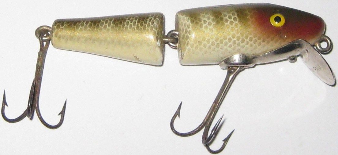 Paw Paw Baby Jointed Pike Wooden Lure