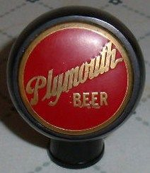 Plymouth Beer Ball Tap Knob