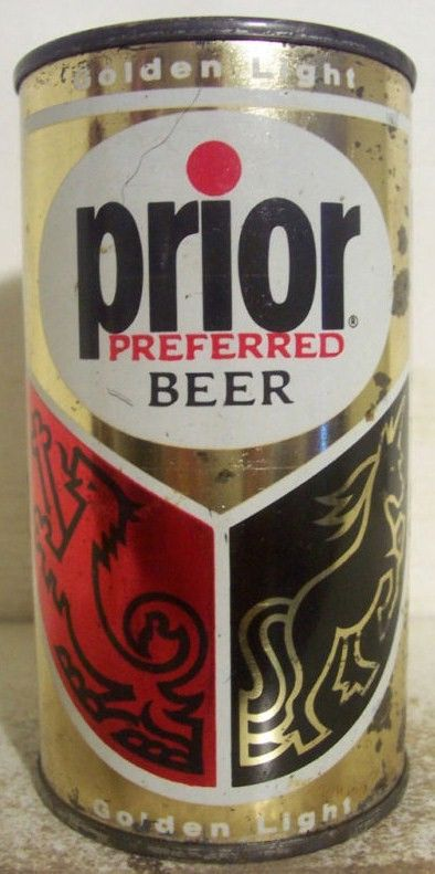 Prior Preffered Beer Flat Top Can/Philidelphia-Norristown, PA