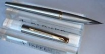Parker 50 Falcon Flighter Fountain Pen w/Gold Plated Trim