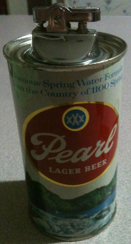 Pearl Beer Can Lighter