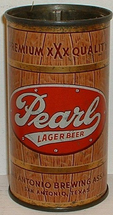 Pearl Flat Top Beer Can