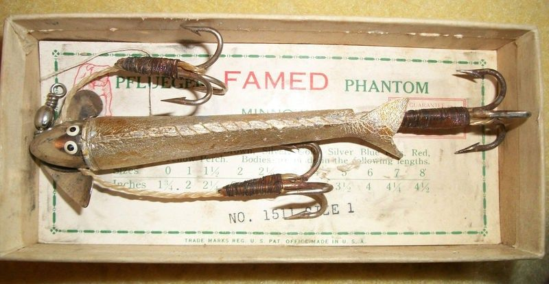 Pflueger Phantom Minnow Size 1 #1511 Brown Trout in Original Box
