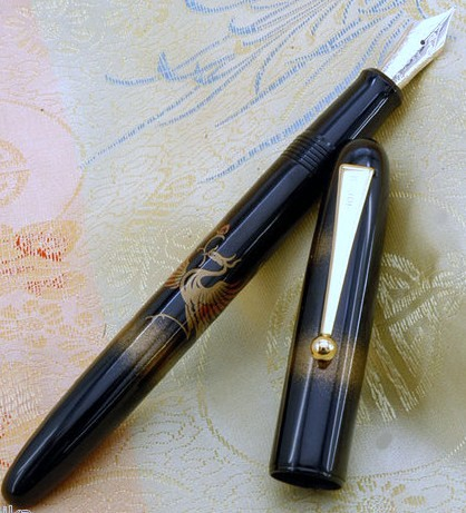 Pilot Namiki Sun Phoenix Maki-eUrushi Lacquer Fountain Pen